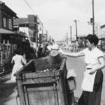 富士見通り 1958(昭和33)年7月(写真:くにたち郷土文化館蔵)
