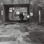 1960年頃の国立駅東側ガード下