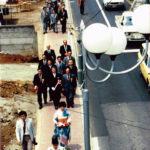 1980年頃の東一番商店会歩道開通式